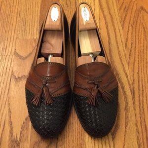 Men's size 12 Bally Black & Brown tassel loafers